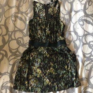 Forever21 Green printed Dress
